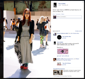 froth and cloth anne cheap monday jane dress silver asos prada red rubber brogues graz sunglasses the iconic mbfwa